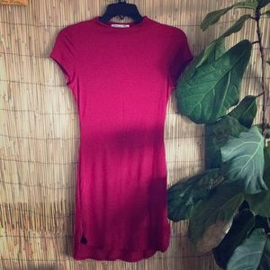 NWOT T-Shirt Curved Hem Dress